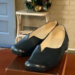 Antonio Melani Navy flat Shoes Size 7.5 gentle use